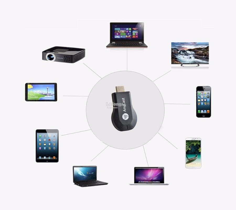 Wifi Display Dongle 1080P - Project Wireless from your Laptop, ipad,  iphone, Android to Any HDMI TV, Monitor or Projector